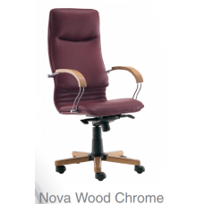 Nova Wood Chrome